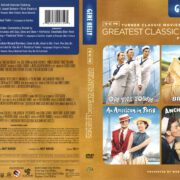 Gene Kelly Classics: On the Town/Brigadoon/An American in Paris/Anchors Aweigh (1951) R1 DVD Cover