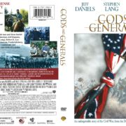 Gods and Generals (2002) R1 DVD Cover