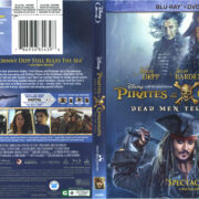 Pirates Of The Caribbean: Dead Men Tell No Tales (2017) R1 Blu-Ray Cover & Labels