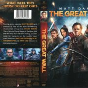 The Great Wall (2017) R1 DVD Cover