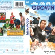 Grown Ups (2010) R1 DVD Cover