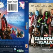 Guardians of the Galaxy Vol. 2 (2017) R1 DVD Cover