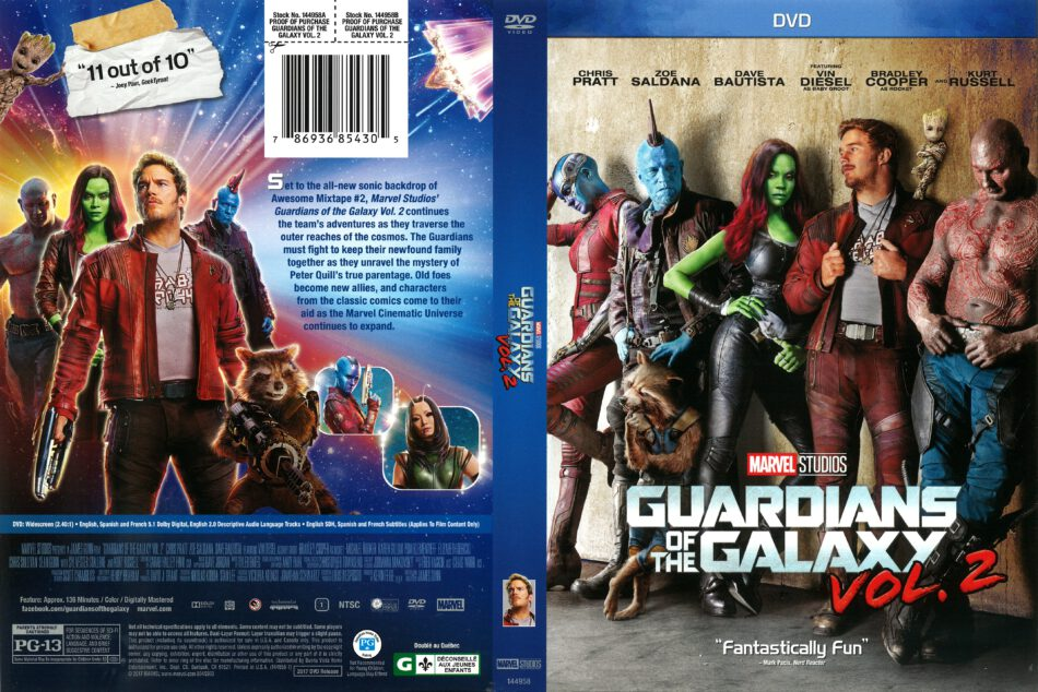 Guardians Of The Galaxy Vol 2 2017 R1 Dvd Cover Dvdcover Com