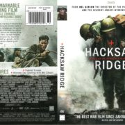 Hacksaw Ridge (2016) R1 DVD Cover