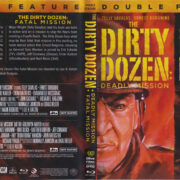 The Dirty Dozen: Deadly Mission + Fatal Mission (1988) R1 Blu-Ray Cover & Label