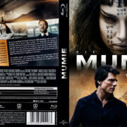 Die Mumie (2017) R2 German Custom Blu-Ray Covers & Label