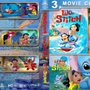 Lilo & Stitch Triple Feature (2002-2006) R1 Custom Blu-Ray Cover