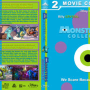Monsters, Inc Collection (2001-2013) R1 Custom Blu-Ray Cover