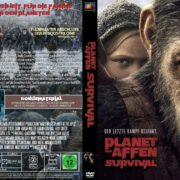 Planet der Affen Survival (2017) R2 GERMAN Custom DVD Cover