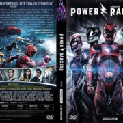 Power Rangers (2017) R2 GERMAN DVD Cover