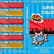 Superhero Collection – Volume 1 (1987-1997) R1 Custom Blu-Ray Cover