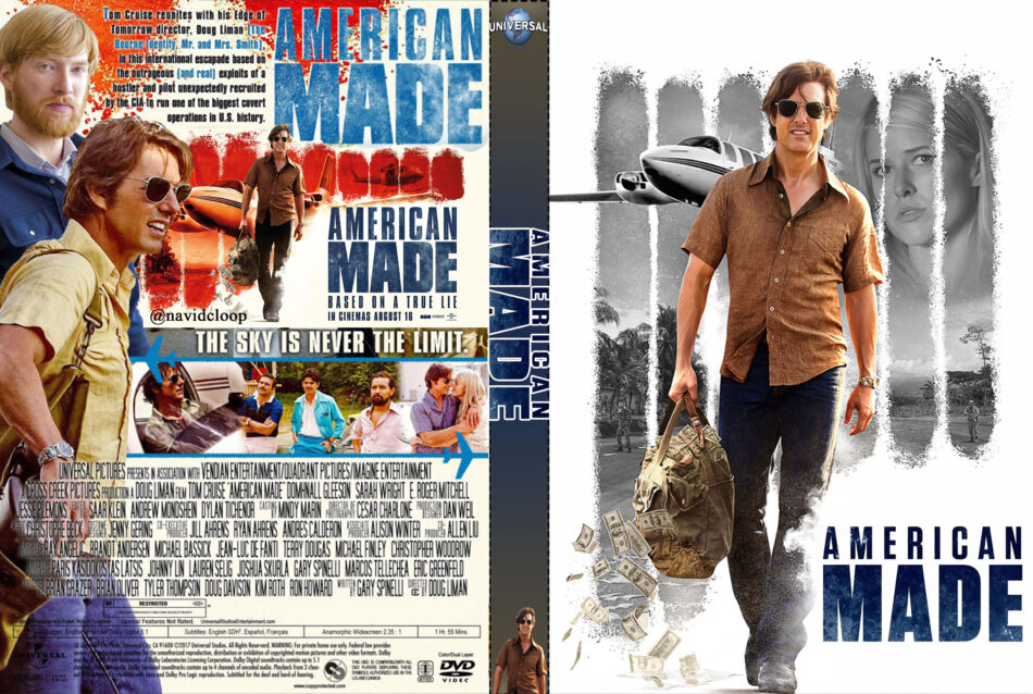ba832c7200 American Made (2017) R1 Custom Covers - DVDcover.Com