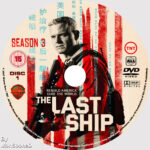 The Last Ship: Season 3 (2017) R2 Custom DVD Labels
