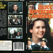 Alice's Adventures in Wonderland (1972) R1 DVD Cover