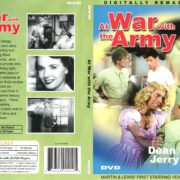 At War with the Army (1950) R1 DVD Cover