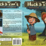 Huck & Tom's Mississippi Adventure (1995) R1 Slim DVD Cover