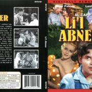 Li'l Abner (1959) R1 DVD Cover