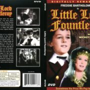 Little Lord Fountleroy (1936) R1 DVD Cover