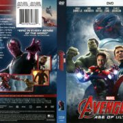 The Avengers: Age of Ultron (2015) R1 DVD Cover