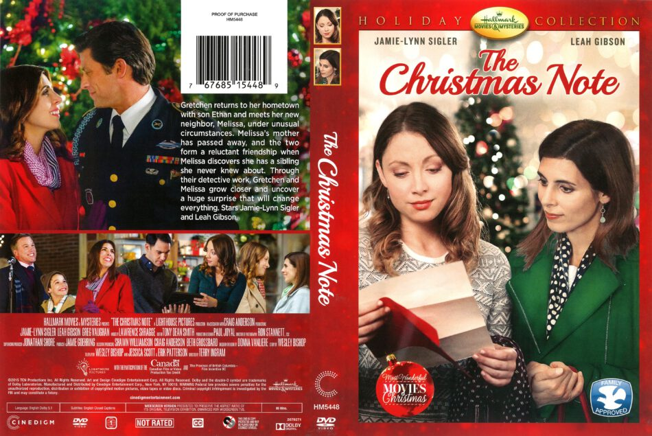 The Christmas Note.The Christmas Note 2015 R1 Dvd Cover Dvdcover Com
