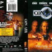 Con Air (1997) R1 DVD Cover