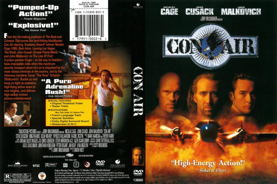 Con Air 1997 R1 Dvd Cover Dvdcover Com