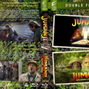 Jumanji Double Feature (1995-2017) R1 Custom Blu-Ray Cover