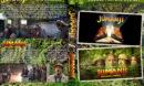 Jumanji Double Feature (1995-2017) R1 Custom DVD Cover
