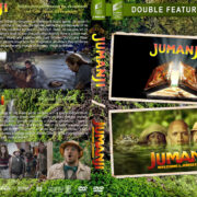 Jumanji Double Feature (1995-2017) R1 Custom DVD Cover
