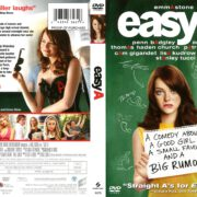 Easy A (2010) R1 DVD Cover