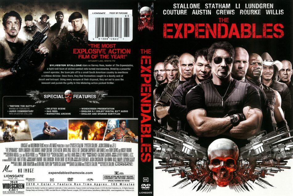 The Expendables 2010 R1 Dvd Cover Dvdcover Com