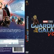 Guardians of the Galaxy Vol. 2 (2017) R2 GERMAN DVD Cover