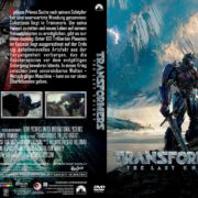 Transformers 5 – The Last Knight (2017) R2 GERMAN Custom DVD Cover