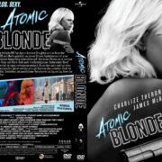Atomic Blonde (2017) R2 GERMAN Custom DVD Cover