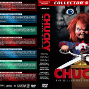 Chucky: The Killer DVD Collection (1988-2017) R1 Custom Cover