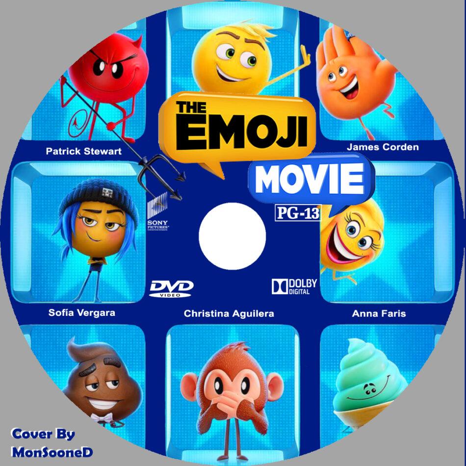The Emoji Movie 2017 R0 Custom Label Dvdcover Com