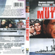 The Caine Mutiny (1954) R1 Blu-Ray Cover & Label