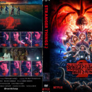 Stranger Things: Season 2 (2017) R0 Custom DVD Covers