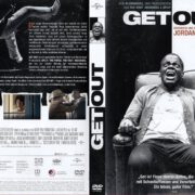 Get Out (2016) R2 GERMAN DVD Cover