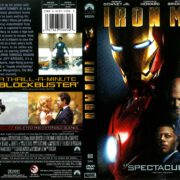 Iron Man (2008) R1 DVD Cover