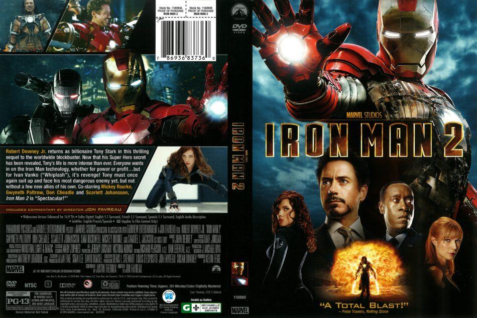 Iron Man 2 2010 R1 Dvd Cover Dvdcover Com