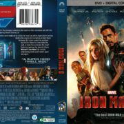 Iron Man 3 (2013) R1 DVD Cover