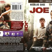 Joe (2014) R1 DVD Cover