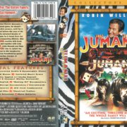 Jumanji (1995) R1 DVD Cover