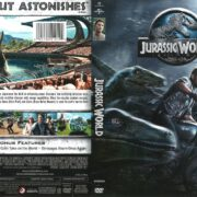 Jurassic World (2015) R1 DVD Cover