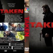 Taken: Season 1 (2017) R0 Custom DVD Cover