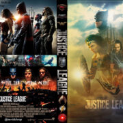 Justice League (2017) R0 Custom DVD Covers