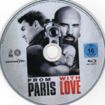From Paris with Love (2010) R2 German Blu-Ray Label