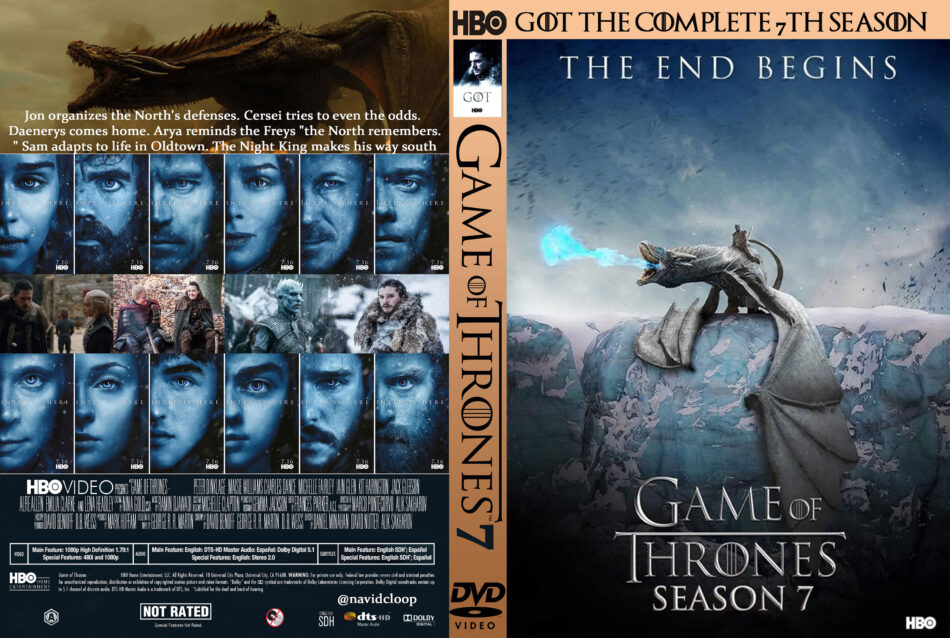 Game Of Thrones Dvd Cover