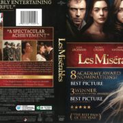 Les Miserables (2013) R1 DVD Cover